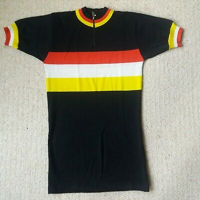 Vintage Cycling Jersey - 80% wool - Santini - small size - good condition. 93f161aa7
