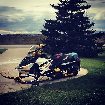 2012 skidoo MXZX 800 E-tec R-motion snowmobile with REVERSE