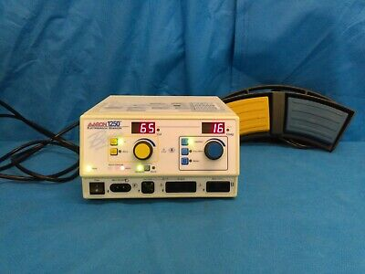 Aaron 1250 A1250 High Frequency Electrosurgical Generator Footswitch Bovie ESU