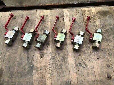 New / Unused MHA PN420 Hydraulic, Oil or Water Gate Valves
