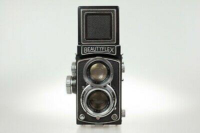 Beautyflex 2.8 Rare Japanese TLR with fast 2.8 Canter taking lens COLLECTORS!