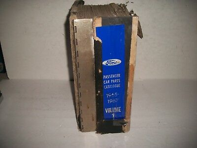 1965 1966 1967 Ford Lincoln Mercury Bronco Illustrated Chassis Parts Catalog