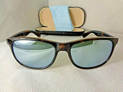 75358fd103 RAY BAN RB 4202 ANDY Sunglasses 710 Y4 Tortoise Polarized Silver ...