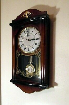 Vintage Style Chiming Quartz Wall Clock By Acctim - Spares & Repairs-Clock Works