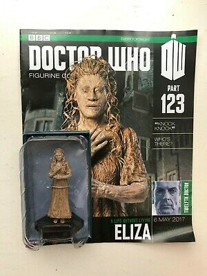 Bbc Dr Doctor Who Figurine Collection Issue 123 Eliza Eaglemoss + Magazine