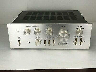 Vintage Fisher CA-2110E Stereo Amplifier 60 Watts per Channel  Made in Japan
