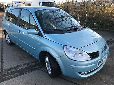 Renault Grand Scenic Dynamic 7 Seater 2.0 Cdti 2008 People Carrier Mpv