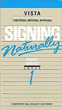 Signing Naturally Student Workbook: Level 1, Expan