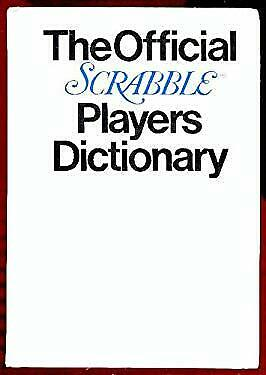 Official Scrabble Players Dictionary by Selchow Righter Company