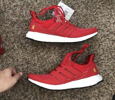 dcb17c13b777e Eddie Huang x Adidas Ultra Boost 1.0 Chinese New Year CNY Size 7 Red Gold  F36426