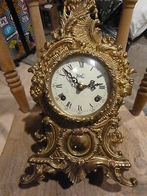Walt solid brass vintage Mantle Clock