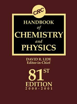 CRC Handbook of Chemistry and Physics-ExLibrary