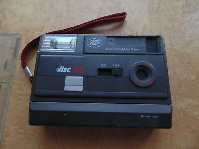 Vintage Boots Disc 415 Camera. Untested.
