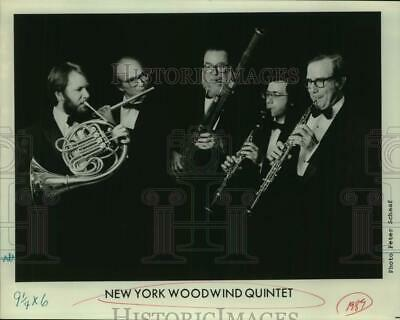 1989 Press Photo Members of the New York Woodwind Quartet. - sap30219