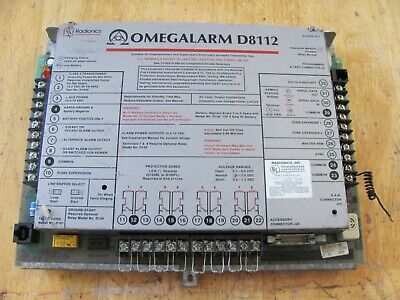 Radionics Bosch Omegalarm D8112 G2 Alarm Control Panel Replacement Board