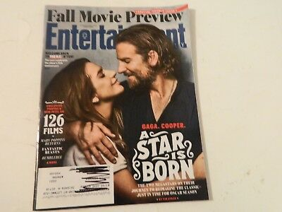 Lady Gaga Bradley Cooper A Star Is Born Entertainment Weekly August 2018