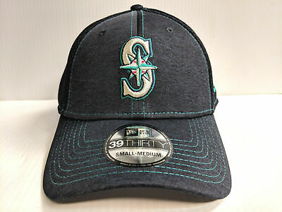 half off 9ab27 1fc95 Seattle Mariners Cap New Era 39Thirty Stretch Fit Mesh Classic Shade Neo Hat