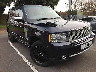 Range Rover Vogue 3.0 Diesel With 2012 Autobiobraphy Style Facelift Conversion