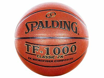 423044dad59 Spalding TF-1000 Classic ZK Indoor Basketball - Official Size 7 (29.5