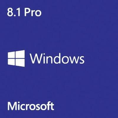 Win 8.1 Pro  32/64 Bits Original Multilanguage Digital Key