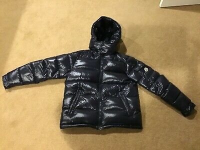 603911a9b3e2 MONCLER 2018 AUTHENTIC Maya Puffer Down Jacket Navy  1175 Size 3 US ...