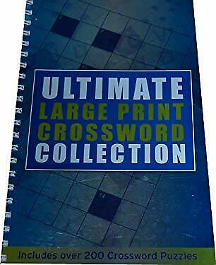 Ultimate Large Print Crossword Collection (Spiral Crosswords)