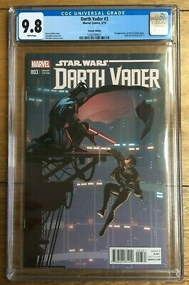 Darth Vader #3 1st Appearance Of Doctor Aphra 1:25 Larroca Variant CGC 9.8