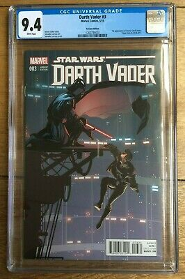 Darth Vader #3 1:25 Larroca Variant 1st Appearance Of Doctor Aphra CGC 9.4