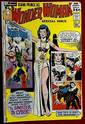 Wonder Woman #197 Dec 1971 Vf/nm The New Diana Prince Special Issue Dc Comics