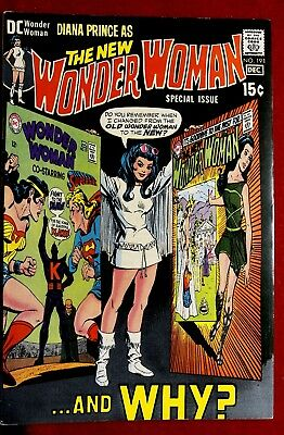 Wonder Woman #191 Dec 1970 Vf/nm The New Diana Prince And Why? Dc Comics