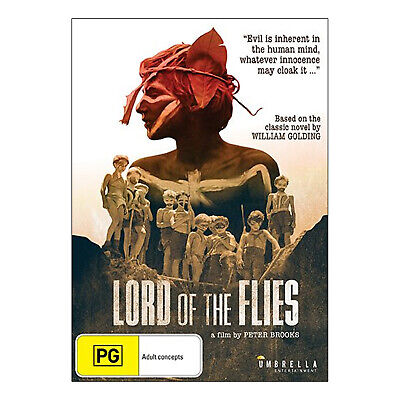 Lord of the Flies DVD Brand New Region 4 Aust. James Aubrey (Black & White)