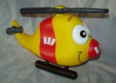 WESTPAC Bank - Helicopter - money box / piggy bank