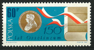 Poland 1967 : 150th anniversary of the Ossolineum  // 1 stamp
