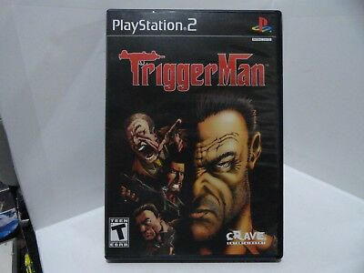 @@ Sony Playstation PS2 TRIGGER MAN!!! COMPLETE!!! @@