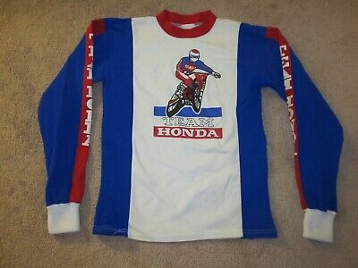 VTG Team Honda Motorcycle Motocross Dirt Bike Jersey-Adult S