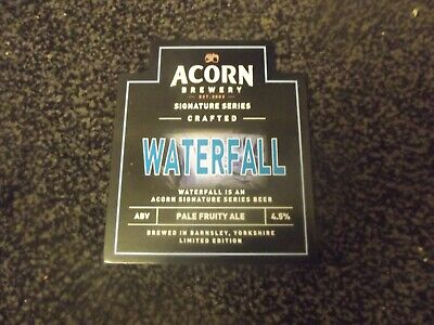 Acorn Brewery - Waterfall Pump Clip