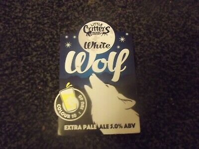 Little Critters Brewery - White Wolf Pump Clip