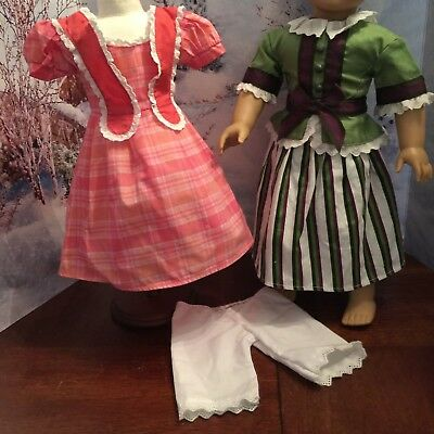 American Girl Doll  Marie Grace  Party Outfit & Meet Dress