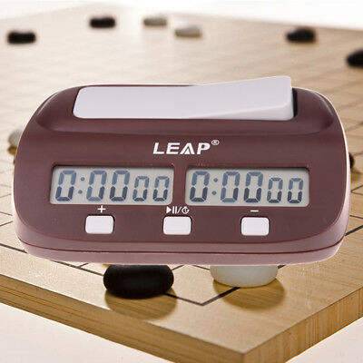 Chess Clock Digital Professional Count Timer Sports Electronic Chess ClocksDR