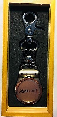 Collectible Marriott Hotels Pocket Watch - NEW IN BOX - For Employees Only RARE!