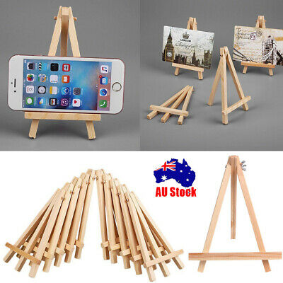 "Mini Artist Wooden Easel Photo Card Stand For Party Home Decoration 6"" 9.5"" CB"