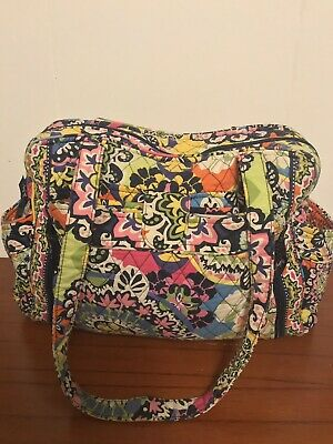 c2719970af26 Retired Vera Bradley Rio Make A Change Diaper Bag  Changing Slight Wear