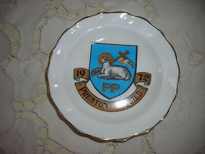 1972 - PRESTON GUILD PLATE **  By R.W.L LONDON  **  VERY GOOD
