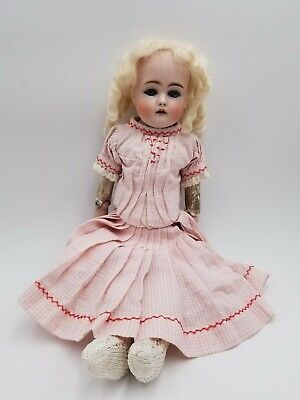 "Antique 17"" tall Doll Kestner 7 166 Made in Germany"