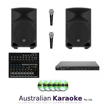 NEW Complete CDG Karaoke System 2000W With 30 Discs
