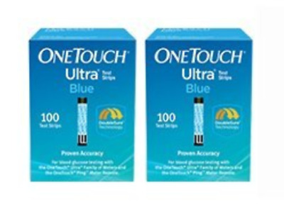 One Touch Ultra Blue Test Strips 200 Count EXPIRES IN 2020 03/31/2020