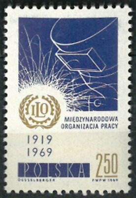 Poland 1969 :  50th anniversary of the International Labour Organisation