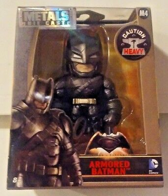 DC Comics Metals Die Cast Batman vs Superman M4 Armored Batman New MISB