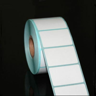 700pcs/Roll 20*10mm Blank White Thermal Labels Rolls Self Adhensive Sticker