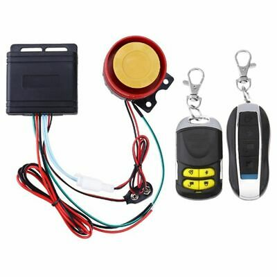 12V Double Remote Control Universal Motorcycle Motorbike Scooter Anti Theft A2D4